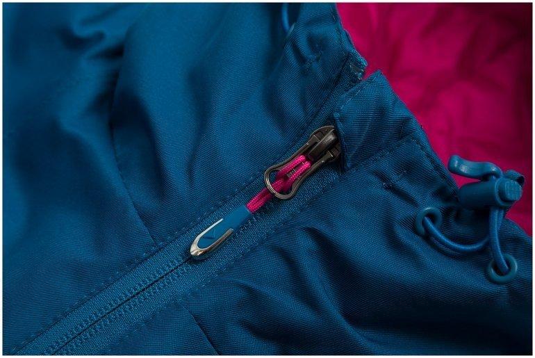 kurtka narciarska damska kobalt outhorn