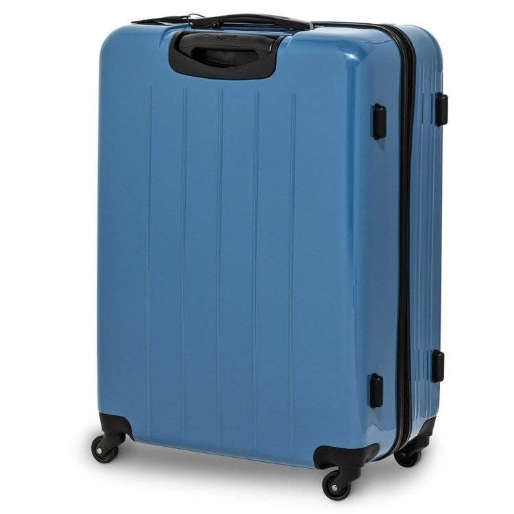 d8d236556aae7 WALIZKA Q-BOX (M) 65CM NIEBIESKA SWISSBAGS+ niebieski \ Średni ...
