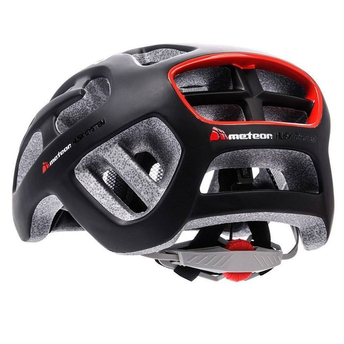 KASK ROWEROWY METEOR BOLTER IN-MOLD black