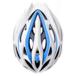 KASK ROWEROWY METEOR CRUST IN-MOLD white/blue