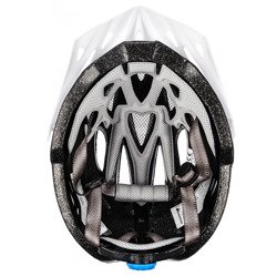 KASK ROWEROWY METEOR SHIMMER white